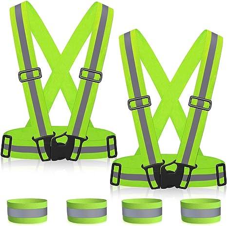 MMTX Chaleco de Seguridad Reflectante, Chaleco de Seguridad ...
