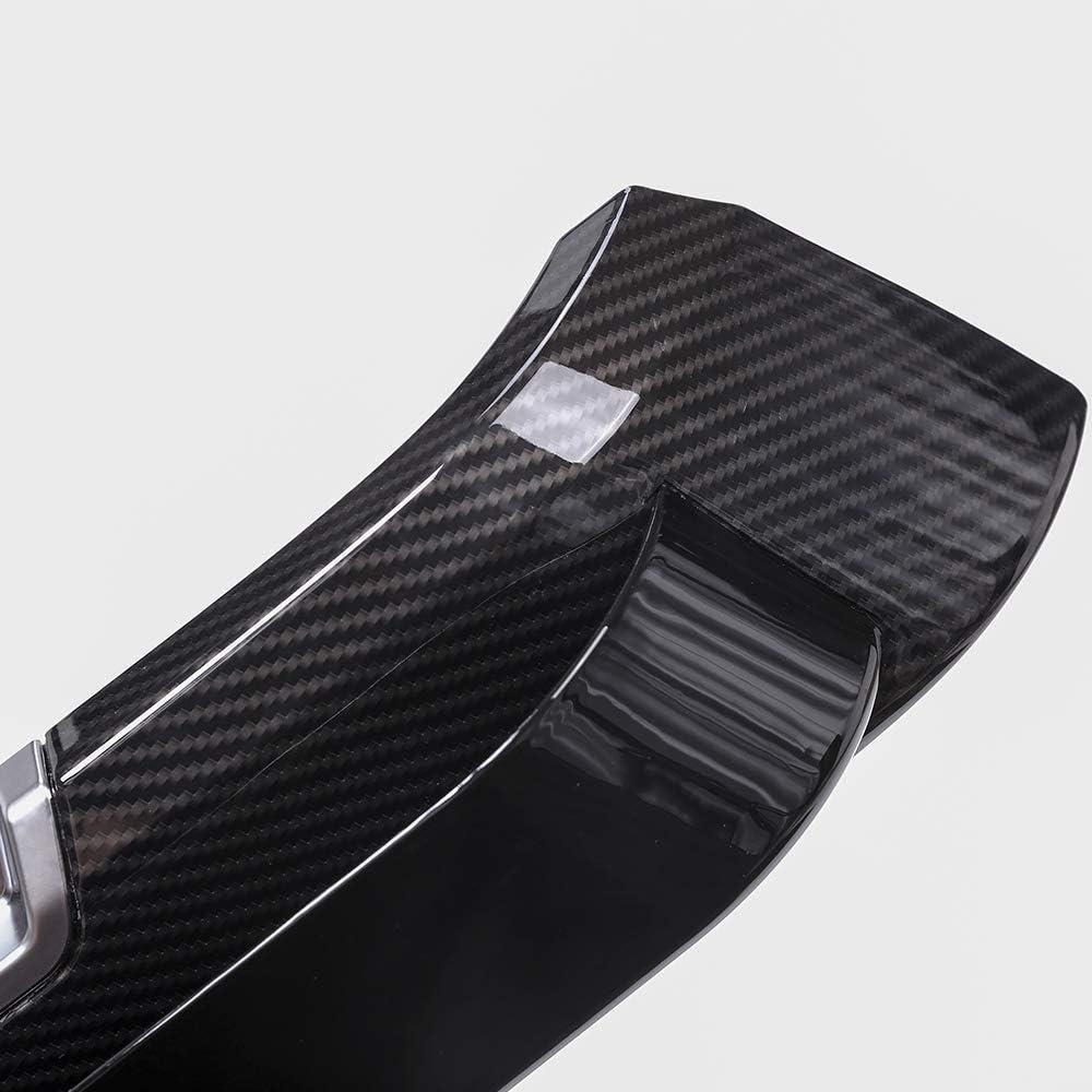 Carbon Fiber Interior Door Protector Panel Storage Box Molding Trim For Land Rover Range Rover Sport 2014-2017 Replacement Part