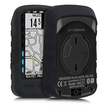 kwmobile Funda para Wahoo Elemnt Roam - Carcasa de Silicona para GPS - Cover para GPS de Bicicleta en Color Deseado