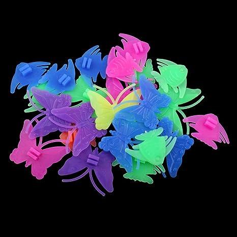 134pc Bike Bicycle Children Kids Wheel Spoke Coloured Beads Fish Butterflies