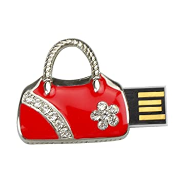 c3259e507ac81 Ebuycentral 8GB USB Stick Handtasche Form Rot  Amazon.de  Elektronik