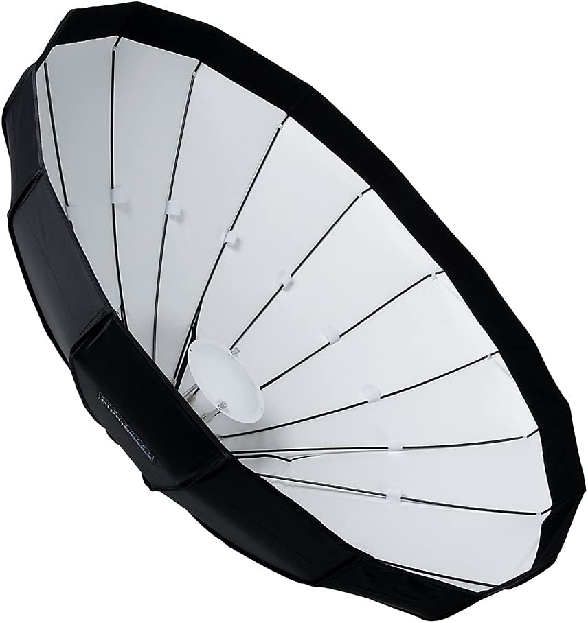 Soft Collapsible Beauty Dish with Speedring for Bayonet Mountable Strobe Beauty Dish and Softbox Combination w//Balcar Speedring 120cm Flash and Monolights Pro Studio Solutions EZ-Pro 48in