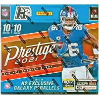 $189 » 2021 Panini Prestige NFL Football H2 HYBRID box (10 pks/bx)