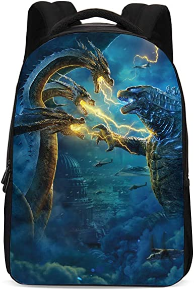 Godzilla Backpack College Student Travel Bags