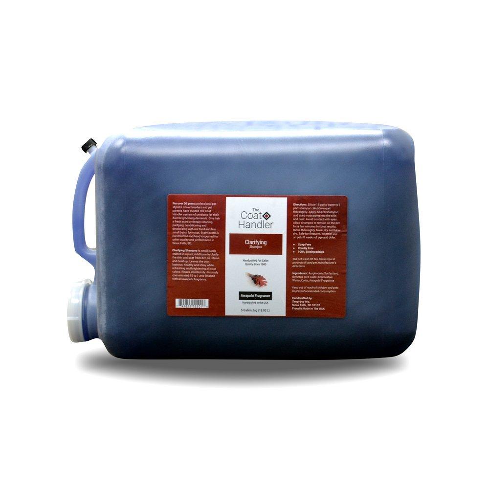 Coat Handler The Clarifying Dog Shampoo 5 Gallon Jug by Coat Handler