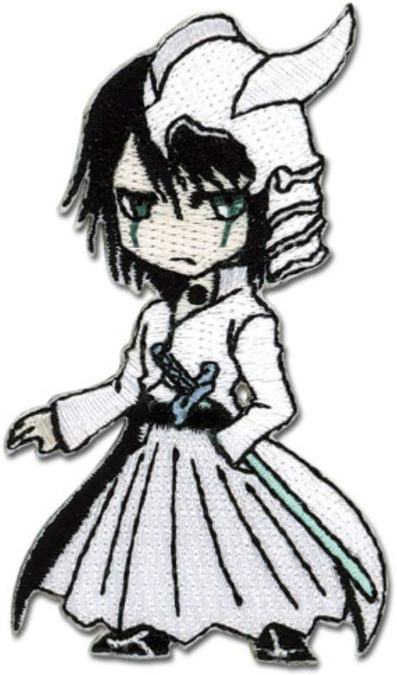 GEA Ulquiorra Bleach Chibi Themed Decorative Anime Patch SD - Officially Licensed Iron On Embroidered Applique