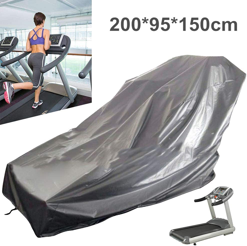 xnbnsj Treadmill Dust Cover Waterproof Treadmill Cover Sports Running Machine Protective Oxford Cloth Cover