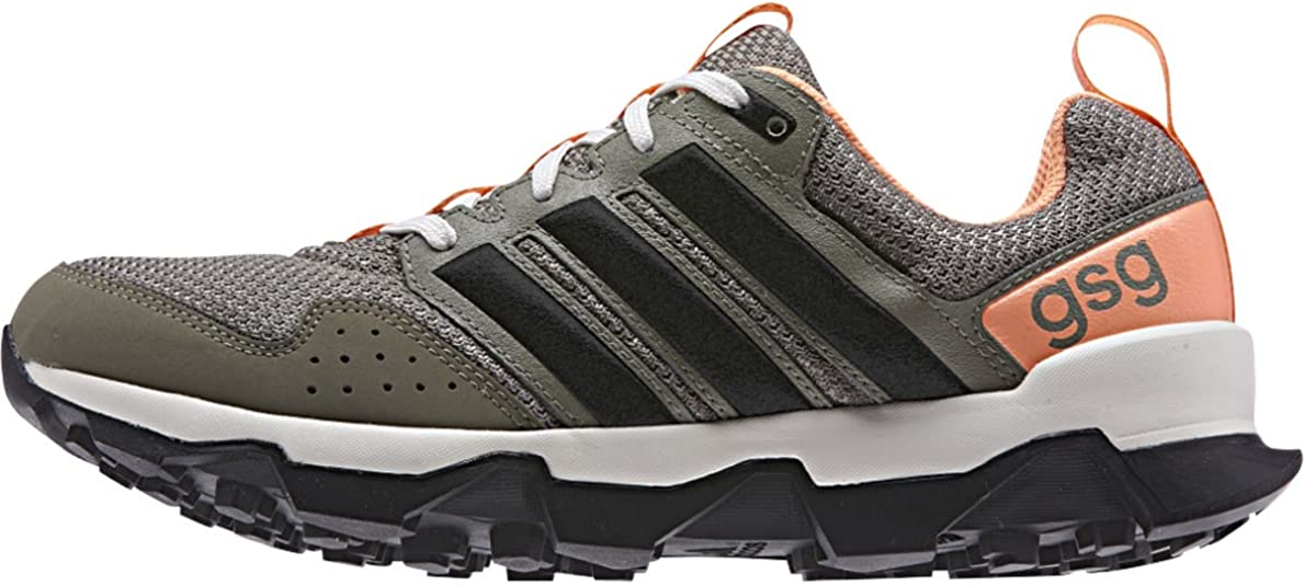 adidas GSG9 Zapatilla De Running Trail – de la al Aire Libre 2015 Las Mujeres m29368 (Arcilla/Core Negro/Flash Naranja – 6): Amazon.es: Zapatos y complementos