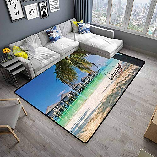 Beach,Front Mat Home Decorative Carpet 64