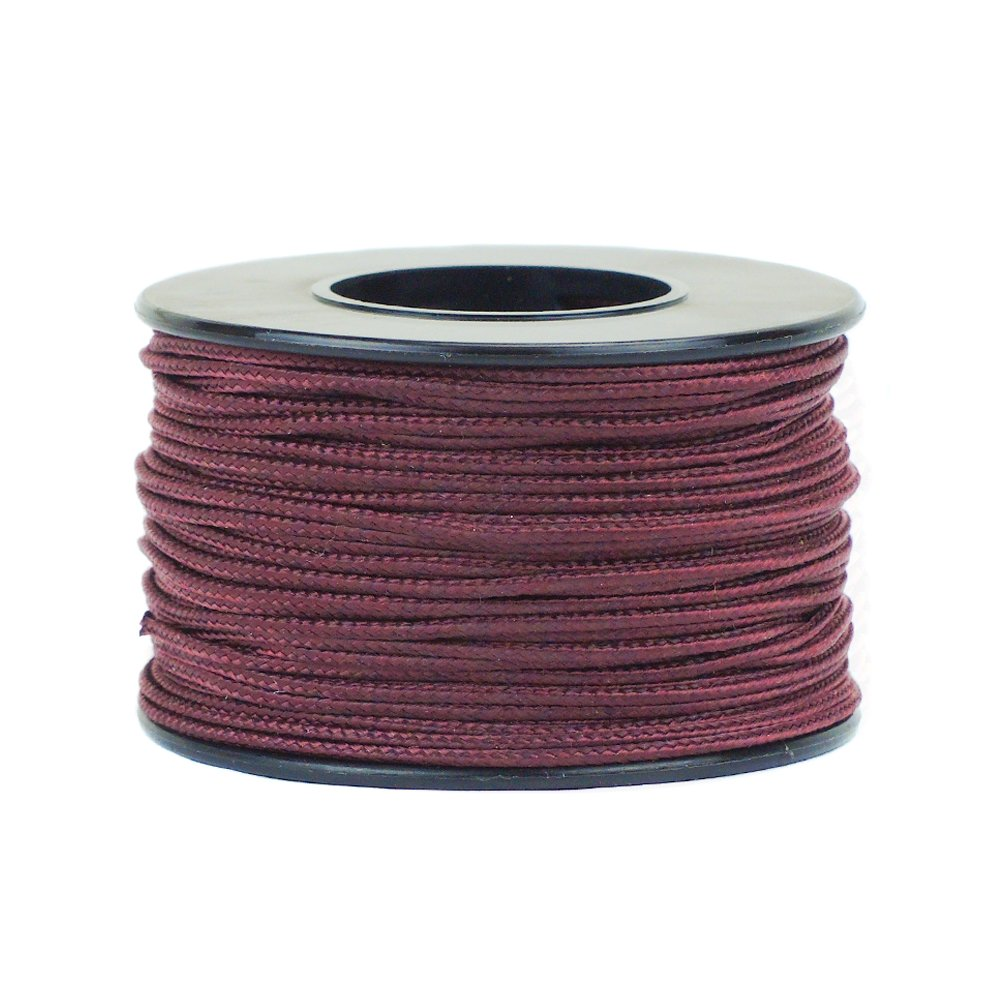 West Coast Paracord Nano and Micro Cord 300//125 Feet Spool of Braided Cord Available in a Variety of Colors