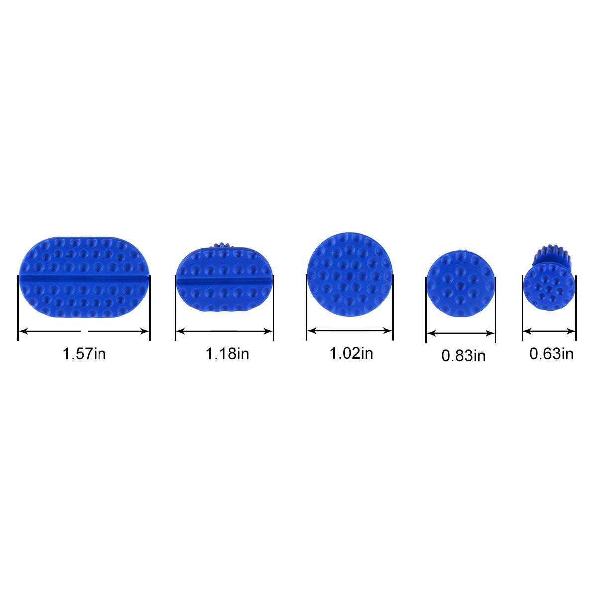 PDR Paintless D/ébosselage R/éparation Super PDR 18 Pi/èce Outil de R/éparation Suppression Kits Marteau coulissant Kit Debosselage Outillage Carrosserie Voiture Automobile Rayure Suppression Dent Reparation Auto
