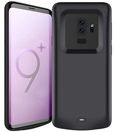 premium selection 72177 9235e Pumier Samsung Galaxy S9 Plus Battery Case,5200mAh Rechargeable Extended  Protective Portable...