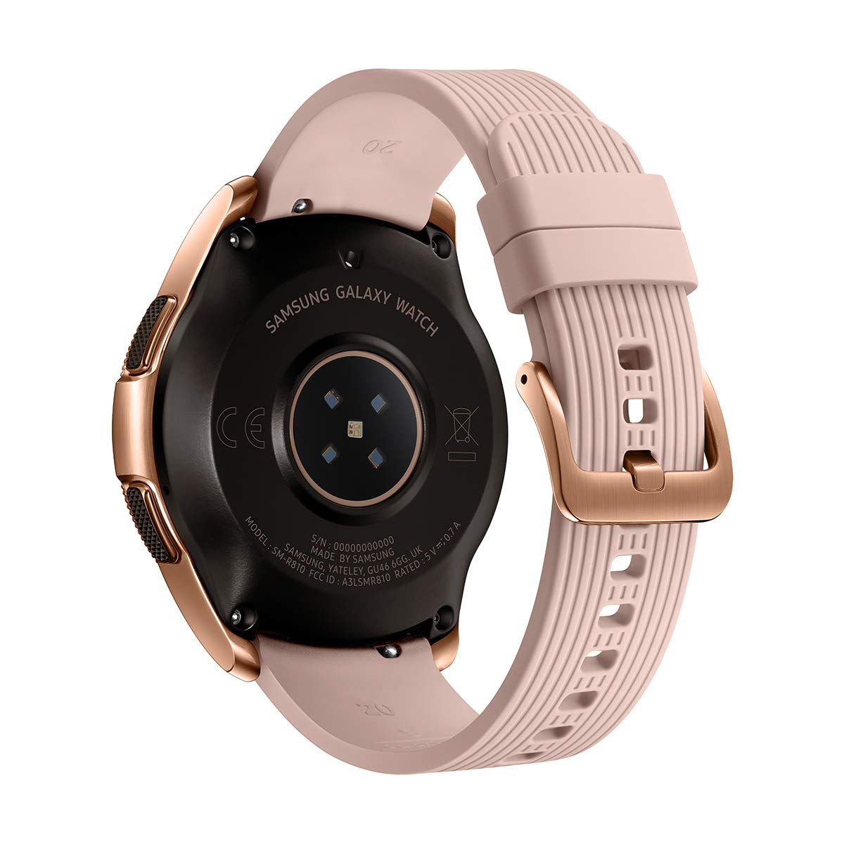 Samsung Galaxy Watch - Reloj Inteligente, Bluetooth, Oro-rosa, 42 ...