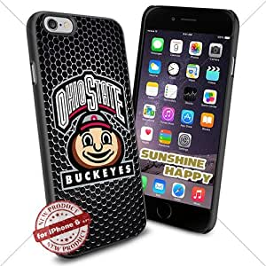 Ohio State Buckeyes, Basketball NCAA Sunshine#2905 Cool iPhone 6 - 4.7 Inch Smartphone Case Cover Collector iphone TPU Rubber Case Black