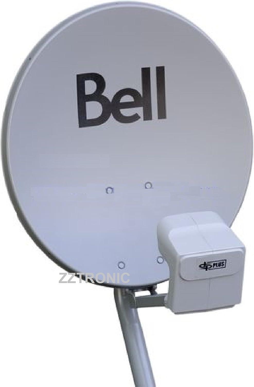 20  BELL TV SATELLITE DISH 500 KIT- Twin DPP LNB With Satellite Finder Amazon.ca Electronics  sc 1 st  Amazon.ca : dpp quad lnb wiring - yogabreezes.com