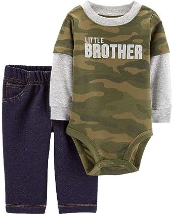 0b507baba2fb Amazon.com  Carter s Baby Boys  Bodysuit Pant Sets 121h164  Clothing