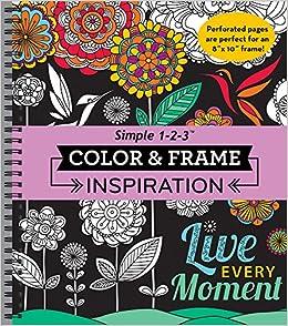 Amazon Color Frame Coloring Book