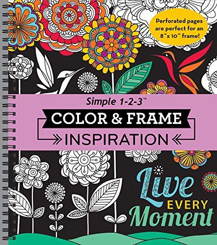 Color & Frame Coloring Book - Inspiration (Frame Ridge)