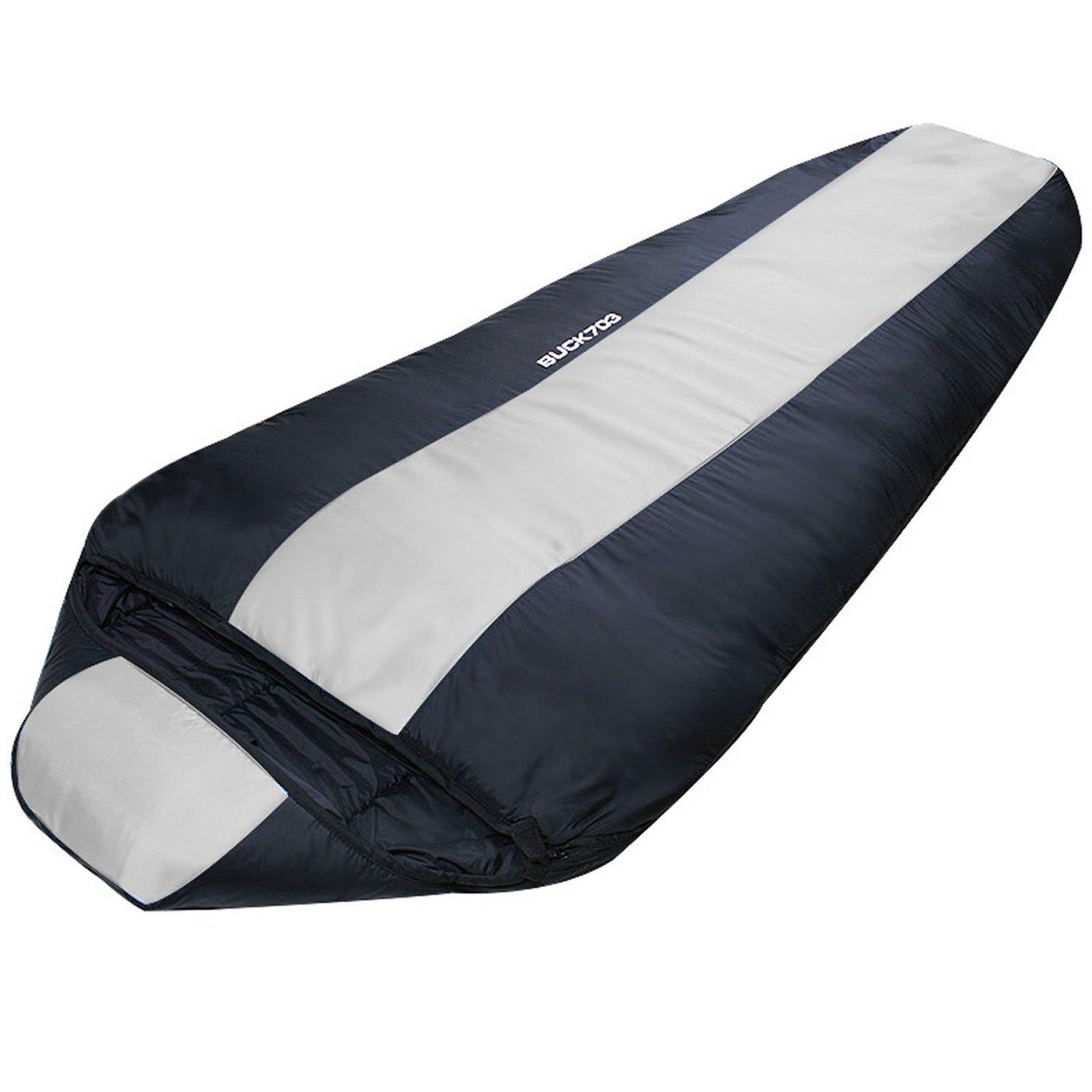 Big Sleeping Bag Large Size 225Cm Lightweight Camping Backpacking by Sleeping Bag