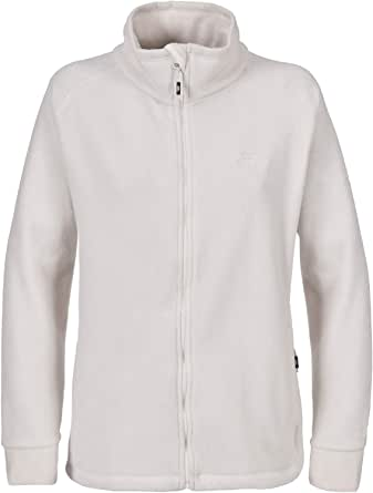 Trespass Womens Albatross Long Sleeve Warm Fleece Jacket With Hood 500gsm