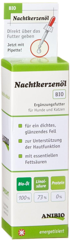 Anibio Aceite de onagra 50 ml suplemento dietario para perros y gatos, 1x Pack (1 x 0.05 l): Amazon.es: Productos para mascotas