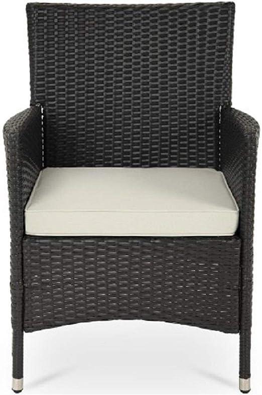 QCY AT - Juego de Mesa y Silla de 7 Piezas/1 Juego de Muebles de jardín multifunción sillas y Mesa Comedor Silla de Playa: Amazon.es: Hogar