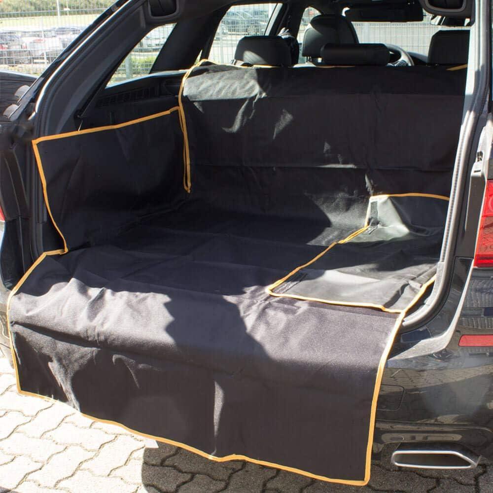 Rinderohr/® Kofferraumschutz mit Seitenschutz und Ladekantenschutz Classic Hund