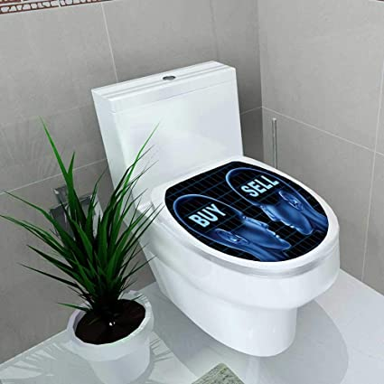 Remarkable Amazon Com Toilet Seat Decal Vinyl Buy Sell Stocks Machost Co Dining Chair Design Ideas Machostcouk