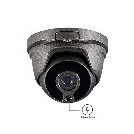 Security IP Camera PoE Outdoor,Kingkonghome 1080P Video Surveillance Camera,Audio  IP Cam With