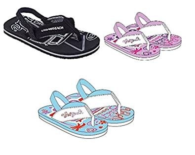 outlet for sale 100% top quality lower price with Urban Beach Infants FLIP Flops with Heel Strap- Toddler Beach Sandals Girls  Boys