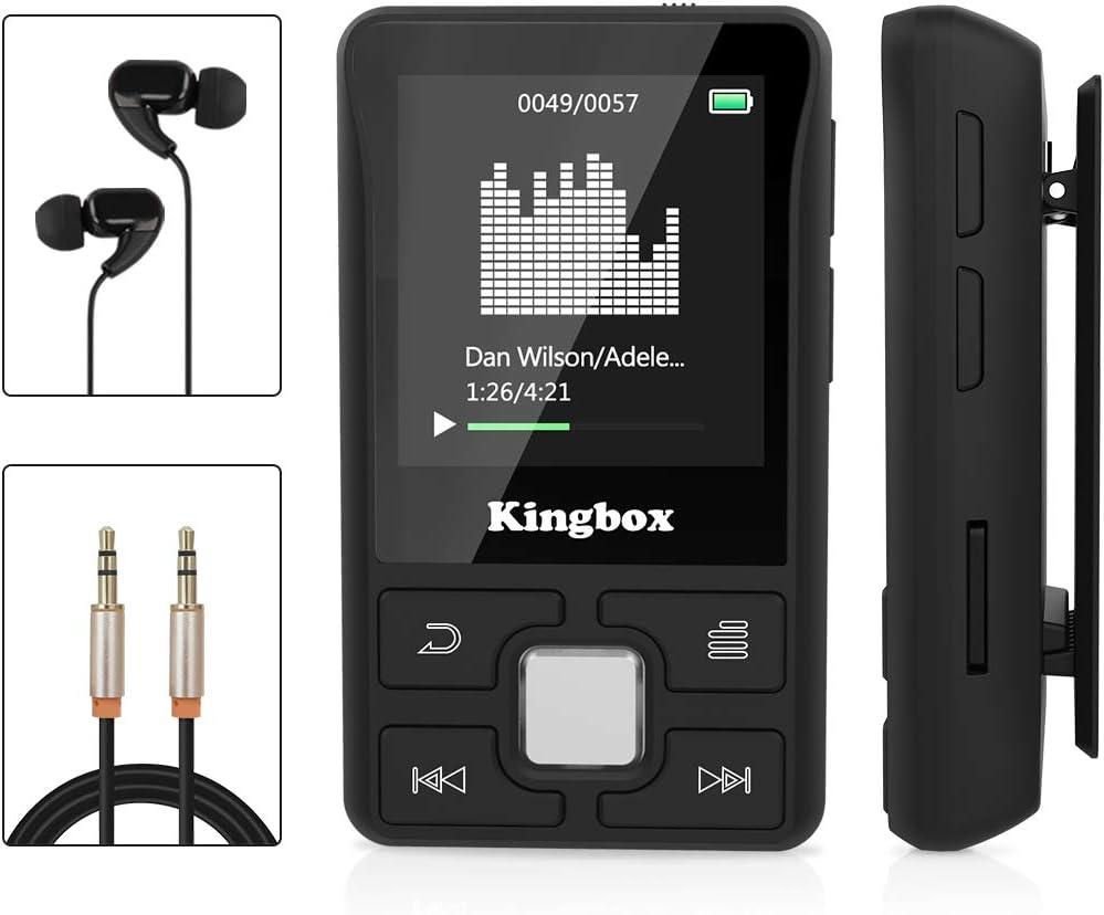 Kingbox Mp3 Player 32 Gb Bluetooth 4 1 Mini Sport Mp3 Elektronik