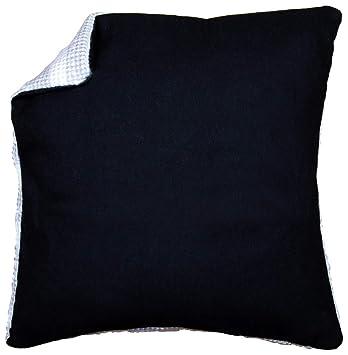 Vervaco - Cojín (Espalda sin Cremallera de Negro, 45 x 45 ...