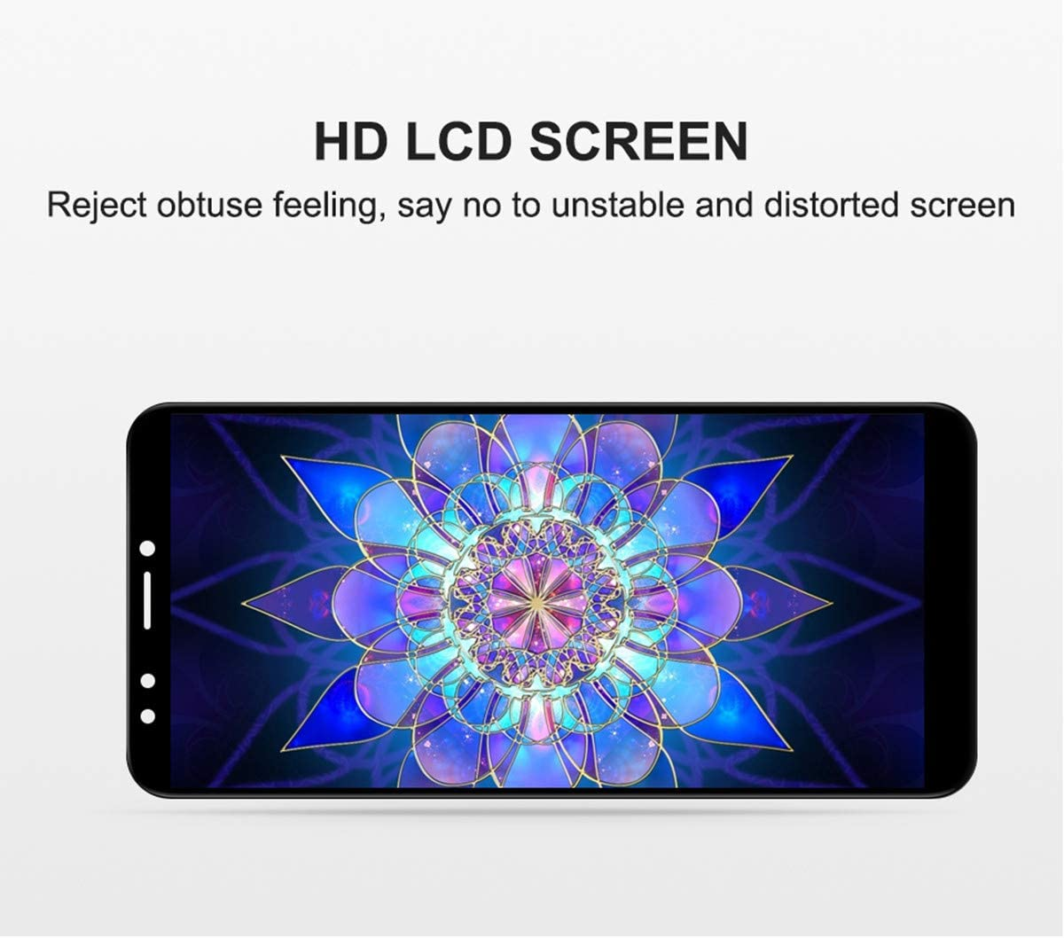Andthere LCD Display Screen Digitizer Touch Screen Assembly with Frame Replacement for Huawei Y7 2018 LDN-L01 LDN-LX3//Y7 Prime 2018 LDN-LX2 LDN-L21 LDN-TL10//Y7 Pro 2018//Nova 2 lite 5.99Inch Black