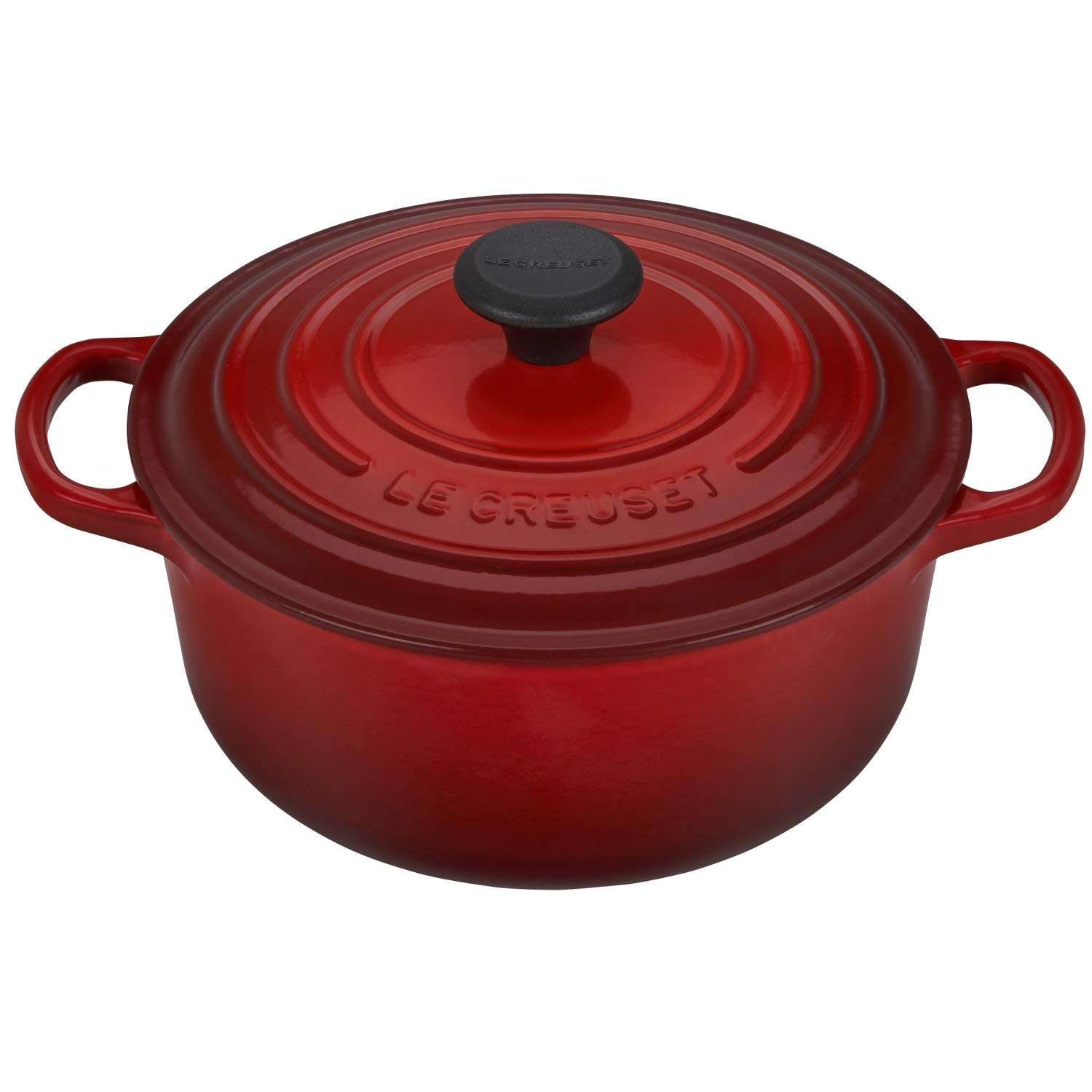 Le Creuset of America LS2501-2067 Enameled Dutch Oven 2.75 qt Cerise