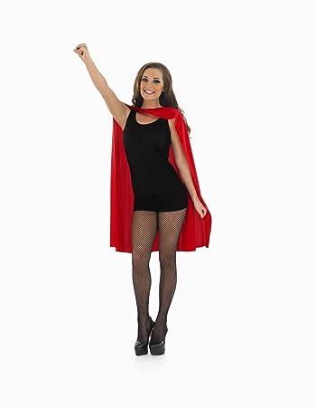 Superheld Umhang Erwachsene rot