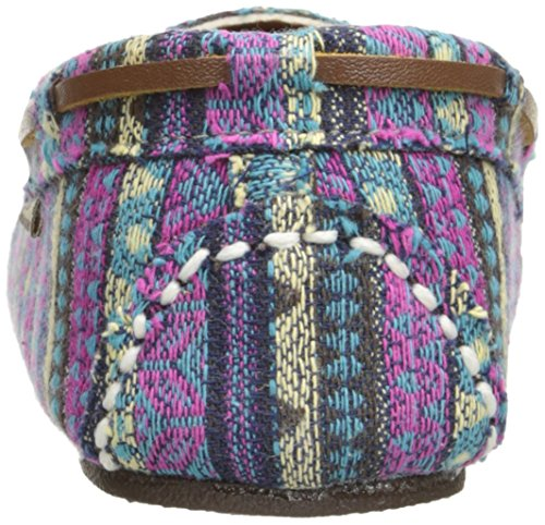 Frauen Tribal Lamo Flache Sandalen Blau gfwnOpq