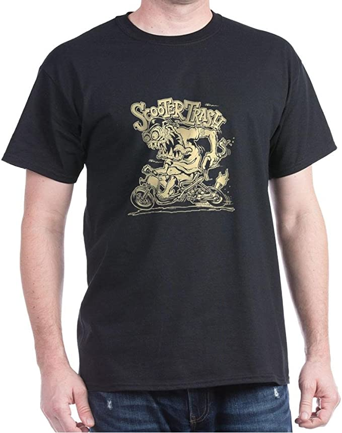 Amazon.com: CafePress – Scooter Trash Ruckus – Camiseta de ...