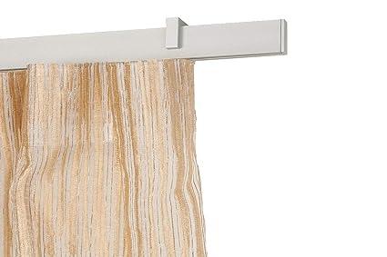 Binari Tende A Soffitto : Incasa binario per tende mm l cm in alluminio satinato