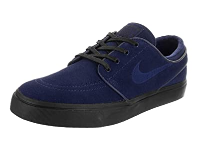 official photos 621fe a9a1c NIKE Men s Zoom Stefan Janoski Low-Top Sneakers, Multicolour Blue  Void Black 001