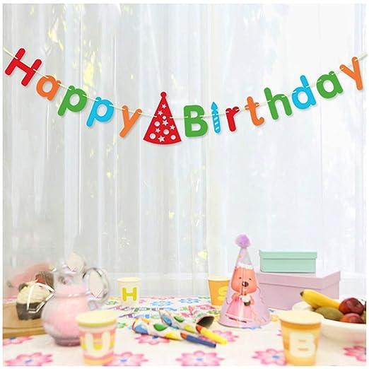 Decoraciones de Fiesta de cumpleaños Feliz Happy Birthday ...