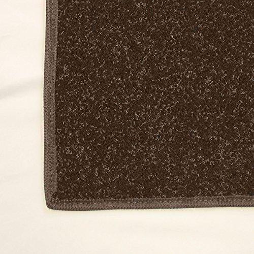 4'x6' Dark Chocolate Brown - Economy Indoor / Outdoor Carpet Area Rugs | Light Weight Spun Olefin Reliably Comfortable Indoor / Outdoor Rug