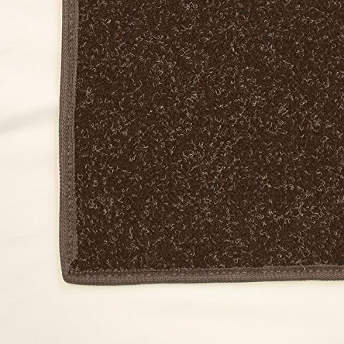 9'x12' Dark Chocolate Brown - Economy Indoor / Outdoor Carpet Area Rugs | Light Weight Spun Olefin Reliably Comfortable Indoor / Outdoor Rug by Koeckritz Rugs
