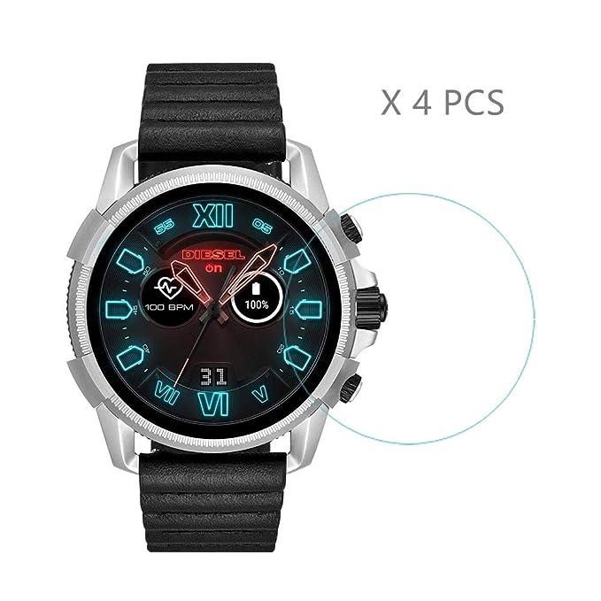 4 Protectores de Pantalla HLH para Diesel smartwatch, dureza ...