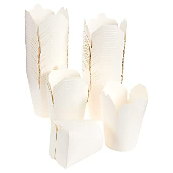 Noodle Boxes Takeaway 26oz750ml 100 Pack Eco Friendly