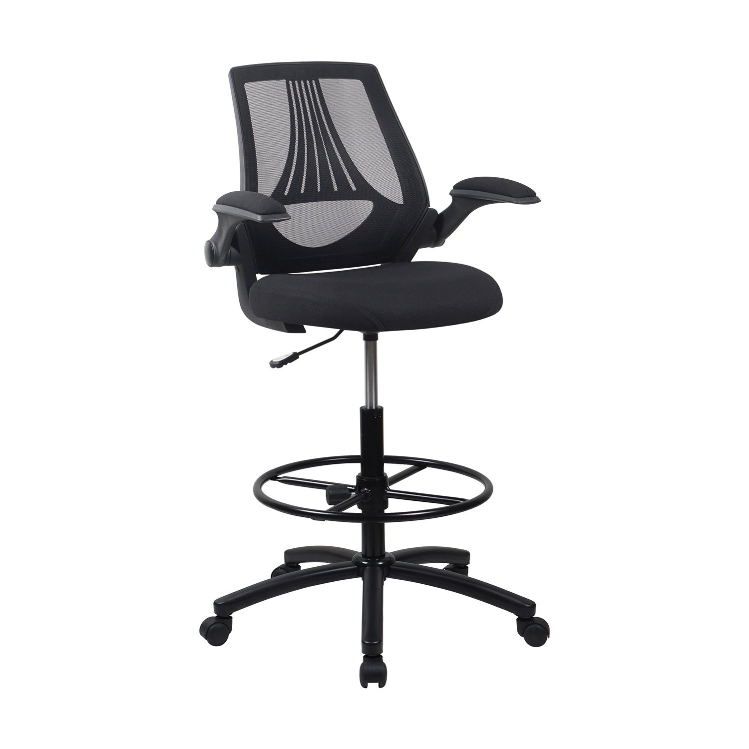 Lch Ergonomic Drafting Chair Mesh Office Chair Adjustable Height