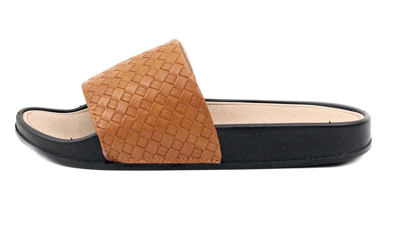 Luckers Womens Woven Slide Sandal