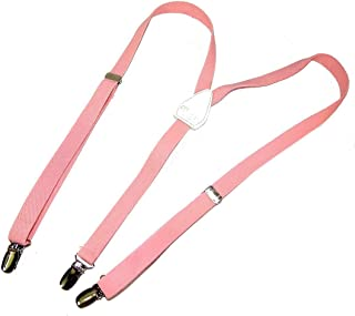 """product image for Hold-Ups Urban Youth 3/4"""" wide Suspender in Y-back with No-slip Clips (Light Pink)"""