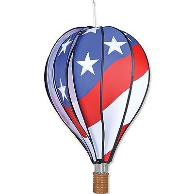 Premier Kites Hot Air Balloon 22 In. - Patriotic, Small : Wind Sculptures : Garden & Outdoor