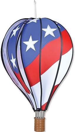 "22/"" LADYBUG Hot Air Balloon Hanging Wind Spinner Windsock"