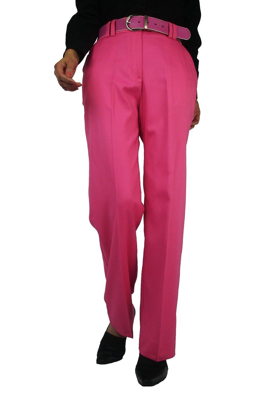 CaPantzzi PANTS レディース #4 (Unfinished hem or email us for custom inseam) Womens Azalea Pink Packable Floppy Hat B00B6561T2
